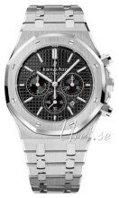 Audemars Piguet Royal Oak Sort/Stål Ø41 mm
