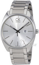 Calvin Klein Exchange Sølvfarget/Stål Ø44 mm