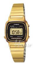 Casio Casio Collection Gulltonet stål 30.3x24.6 mm
