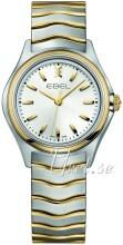 Ebel Wave Sølvfarget/Gulltonet stål Ø30 mm