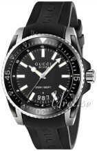 Gucci Sort/Gummi Ø45 mm