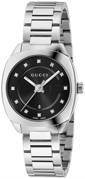 Gucci G- Frame Sort/Stål Ø29 mm YA142503