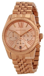 Michael Kors Lexington Rosegullfarget/Rose-gulltonet stål Ø38 mm MK5569