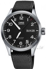 Oris Oris Aviation Sort/Tekstil Ø45 mm