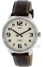 Timex Hvit/Lær Ø45 mm