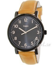 Timex Sort/Lær Ø42 mm