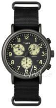Timex Weekender Sort/Stål Ø41 mm