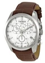 Tissot T-Trend Couturier Sølvfarget/Lær Ø41 mm