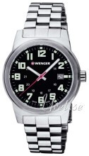 Wenger Field Classic Sort/Stål Ø41 mm